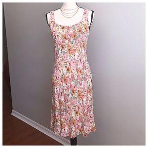 LOFT Dresses - LOFT By Ann Taylor Easter Floral Dress